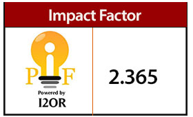 I2OR Impact Factor:2.365
